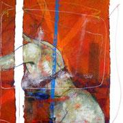 Seducción No.2 / 150 x 100 cms / óleo y acrílico sobre lienzo