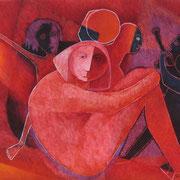 Crece la audiencia / 145 x 115 cms/ técnica: óleo sobre lienzo