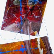 Seducción No.4 / 150 x 100 cms / óleo y acrílico sobre lienzo