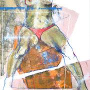 Seducción No.7 / 150 x 100 cms / óleo y acrílico sobre lienzo