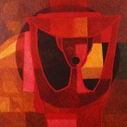 Pregonera / 150 x 130 cms / técnica: óleo sobre lienzo