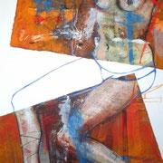 Seducción No.5 / 150 x 100 cms / óleo y acrílico sobre lienzo