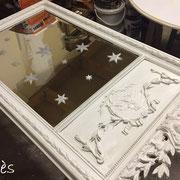 repeindre miroir patine peintre toulouse
