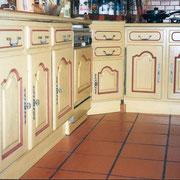 repeindre meuble de cuisine en chene relooking