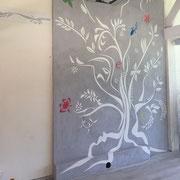fresque sgraffito peinture murale toulouse