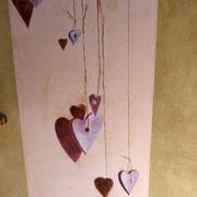 décoration chambrefille fresque murale