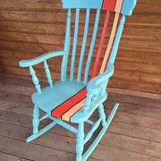 meuble peint toulouse rocking chair