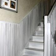 patine escalier