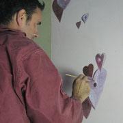 Fresque murale Luc Francoulon