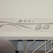 fresque murale frise sgraffito toulouse