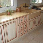 meuble de cuisine relookés