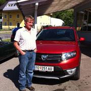 Herr Eberhart  Dacia Sandero Stepway