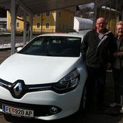 Fam. Gradischnig Armin  Renault Clio