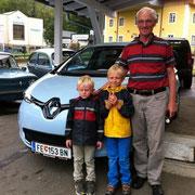 Fam. Dr.Taferner Renault Zoe