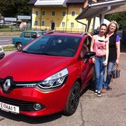 Fam.Gfrerer  Renault Clio Grandtour