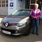 Frau Dorfer Tini Renault Clio