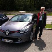 Frau Faschinger Renault Clio