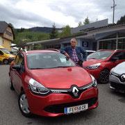 Herr Stüfler  Renault Clio Grandtour
