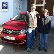 Fam Scherer Dacia Sandero