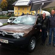 Familie Fischer Dacia Cool