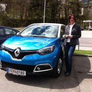 Frau Stöger Renault Captur