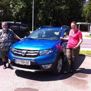 Fam Krammer Dacia Sandero Stepway