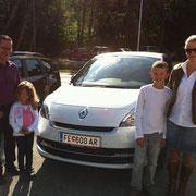 Familie Kogler Renault Scenic Grand Bose