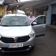 Taxi Haber  Dacia Lodgy