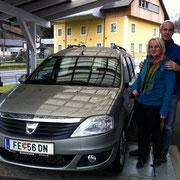 Fam.Egger Horst Dacia Logan MCV
