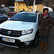 Frau Heilmaier Dacia Sandero