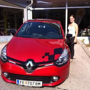 Frau Reibnegger Renault Clio Dynamique