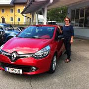 Frau Bader Renault Clio