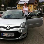 Frau Scherer Renault Twingo