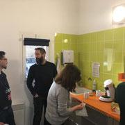 Bureaux de Montignac coin repas et pause café