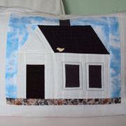 Haus mit Vögelchen, 3d, 50x70