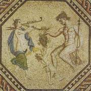 Das römische Mosaik im Römisch-Germanischen Museum