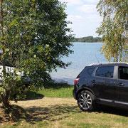 Ankunft am Murner See!