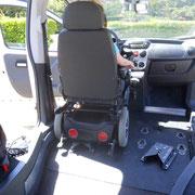 Conduite en fauteuil roulant