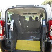 Transport de personne en fauteuil roulant