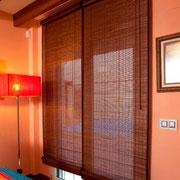 Estores y ventanas de madera
