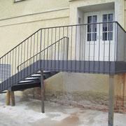 AT - Stufen wurden ausbetoniert