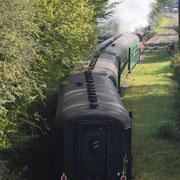 Promenade guidée de Treignes - Train à vapeur du chemin de fer à vapeur des 3 vallées