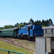 Train à vapeur - Gare de Treignes