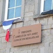 Fête de Toine : 29/09/2018 : Commémoration du jumelage Quincié-Treignes 1971-2018