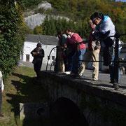 Promenade guidée dans Treignes - Lavoir devant le Trou Maillard