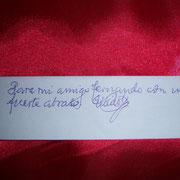 """"""" Para mi amigo Fernando con un fuerte abrazo """" Enrique Orizaola"""