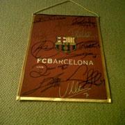 Banderìn Plantilla 2011-12 - Regalo FCB