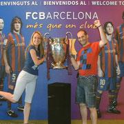 Con La Champions, Septiembre del 2010 , Museo FCB