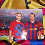 Con Andrès Iniesta