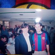 Jose Mari Bakero ( Visita FCB a México )